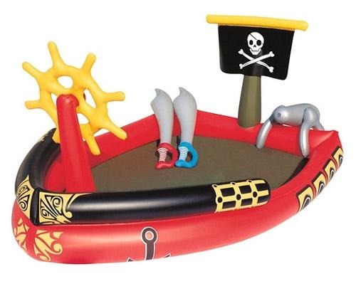 Bestway Oppusteligt Piratskib Badebassin