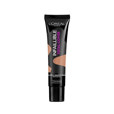 LOreal Infallible Total Cover Foundation Golden Beige
