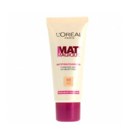 LOreal Mat Magique Mattifying Foundation Light Sand