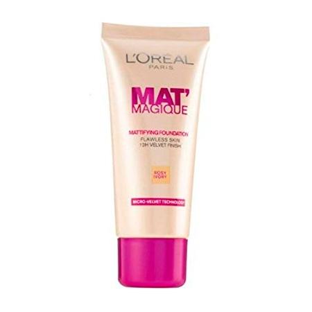 LOreal Mat Magique Mattifying Foundation Rose Ivory