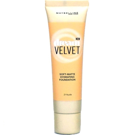 Maybelline Dream Velvet Soft-Matte Foundation Nude