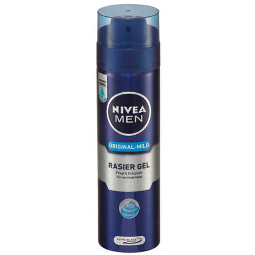 Nivea Barbergel Original-Mild - 200 ml
