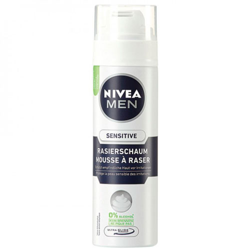 Nivea Sensitive Barberskum - 200 ml