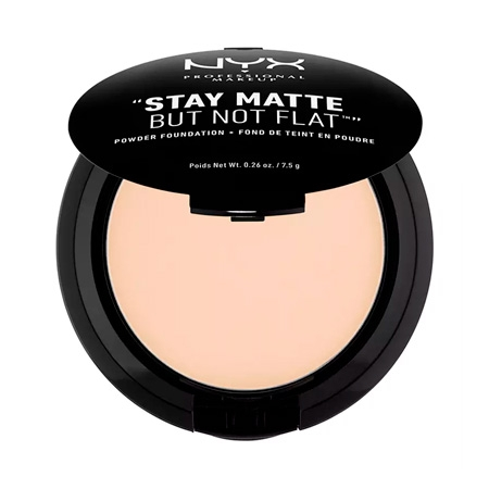 NYX Stay Matte But Not Flat Powder Foundation Alabaster