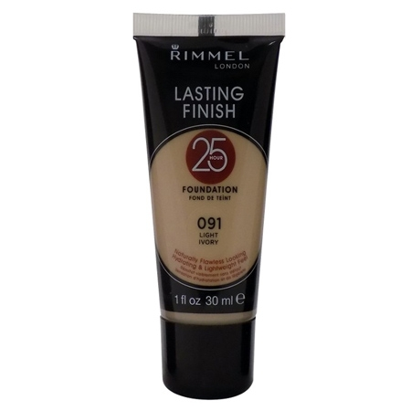 Rimmel Lasting Finish 25 Hour Foundation Light Ivory